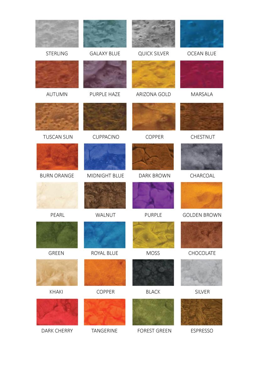 Metallic epoxy flooring cape industrial flooring colour chart nvjuhfo Image collections
