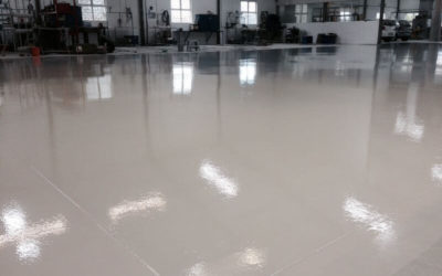 How Grinding and Polishing can Improve Concrete Floors