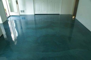 Metallic Epoxy Flooring: